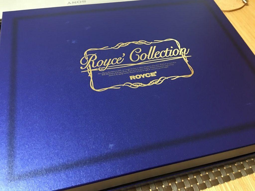ロイズコレクションの外箱