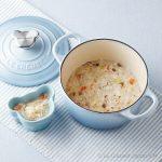 ルクルーゼのベビー食器と鍋