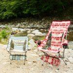 アウトドア用の折りたたみ椅子